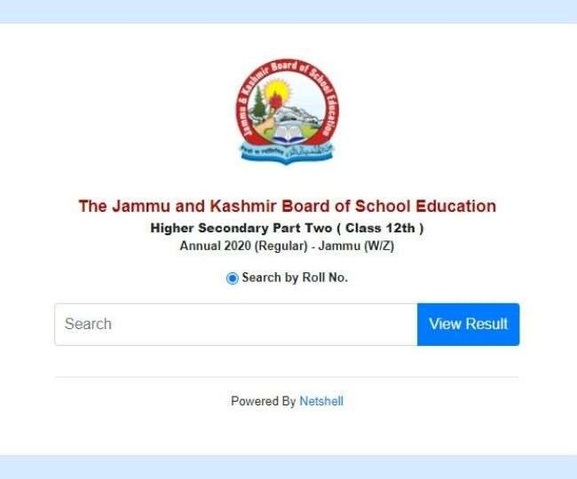 JKBOSE Result 2021: JKBOSE 12th Class Result 2021 of Jammu Division (Winter Zone) declared at jkbose.ac.in