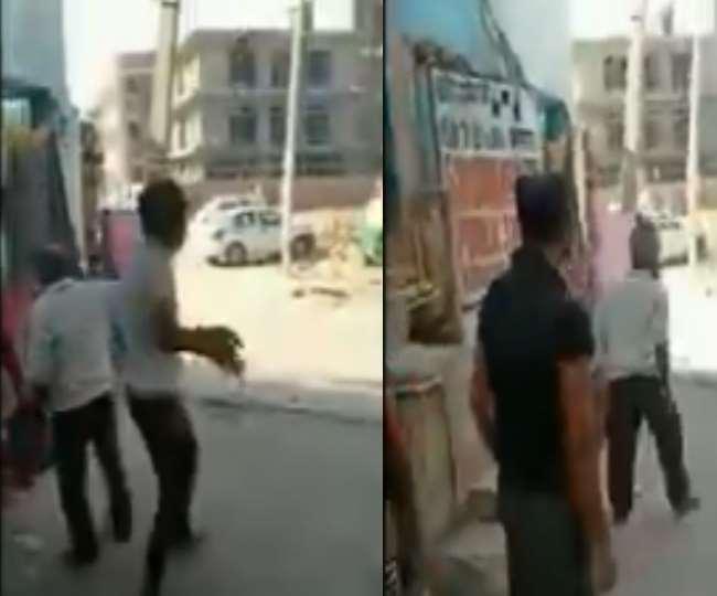 दिल्ली के मजदूरों को हरियाणा में एंट्री नहीं देने पर बवाल, पथराव में 5 पुलिसकर्मी जख्मी