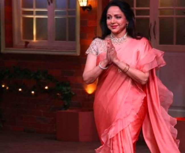 बॉलीवुड अभिनेत्री और भाजपा सांसद हेमा मालिनी , Instagram: dreamgirlhemamalini