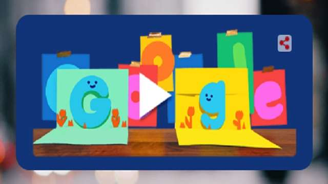 Google made special doodles, GIF and greetings cards on Father's Day