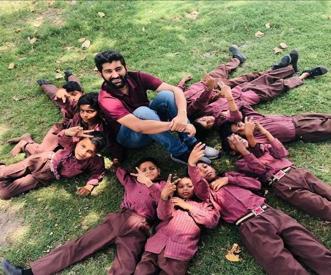 कोरोनाकाल में अनाथ हुए बच्चों का सहारा बन रही जॉय संस्था।