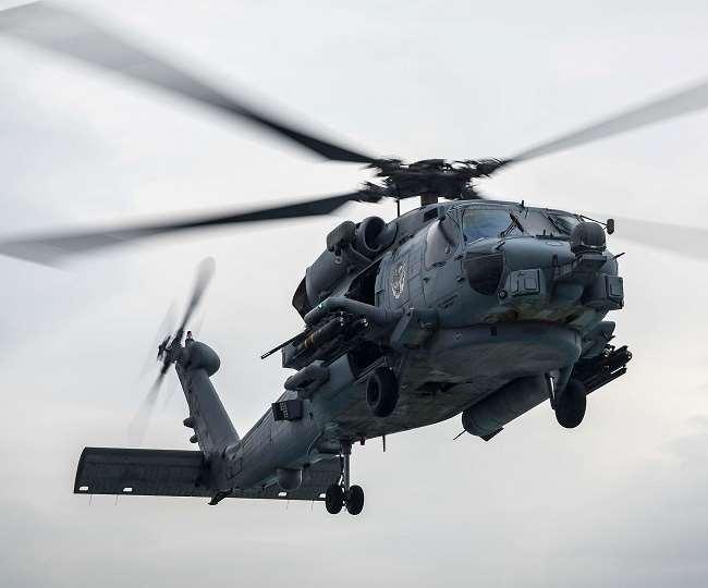 भारत सरकार ने 2020 में MH-60R हेलीकॉप्टरों की खरीद को मंजूरी दी थी।