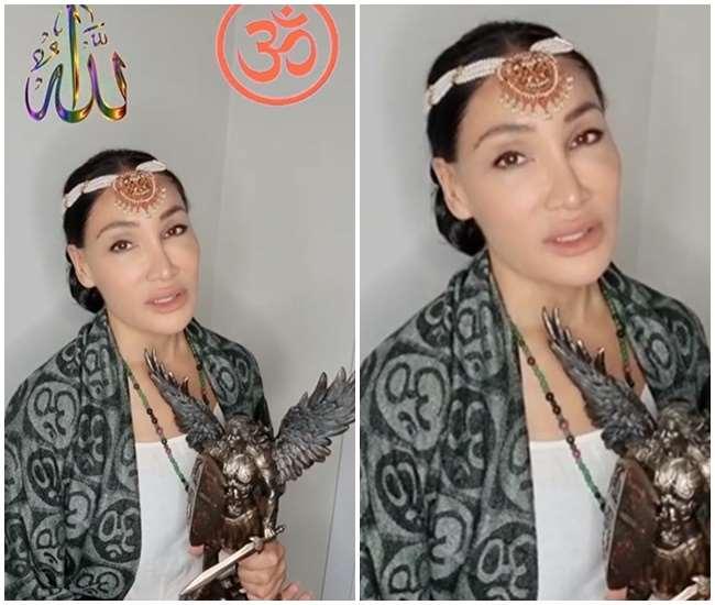 सोफिया हयात ने खुद को बताया देवी, फोटो साभार: Instagram