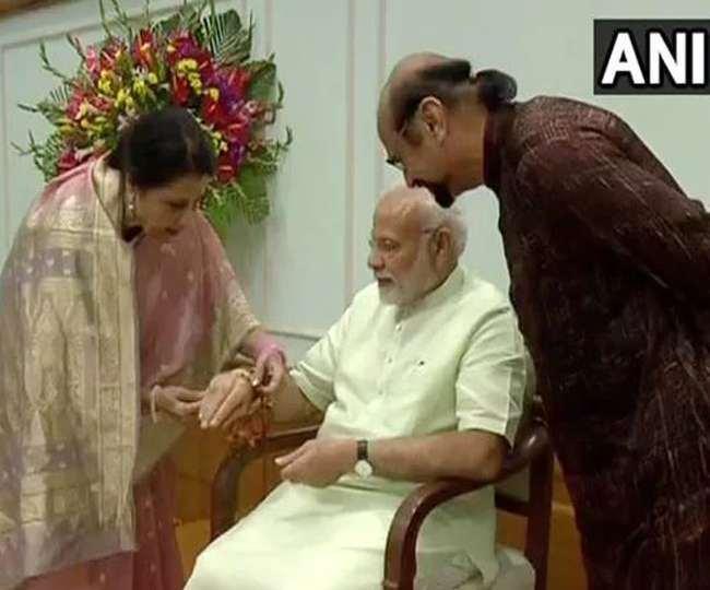 प्रधानमंत्री मोदी के काम व कोविड अभियान में उनकी भूमिका को सराहा।(फोटो: दैनिक जागरण)