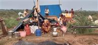 उफान में 6099 ग्रामीण घिरे, 1000 की आबादी टीलों पर
