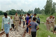 बकरियों को बचाने में ट्रेन की चपेट में आकर वृद्धा की मौत