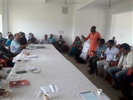 पंचायत समिति की हंगामेदार रही बैठक, गायब अधिकारियों के खिलाफ निदा प्रस्ताव