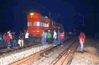 सोनपुर में इंजन का पहिया पटरी से उतरा, परिचालन बाधित