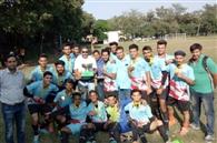 कठुआ इंटर कॉलेज फुटबॉल का चैंपियन बना