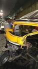 गरमनाला में कार-ऑटो और बाइक में टक्कर, ऑटो चालक की मौत