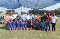 वॉलीबॉल टूर्नामेंट में दोआबा पब्लिक स्कूल दूसरे स्थान पर