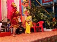 हनुमान ने जलाई रावण की सोने की लंका