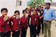 बच्चों ने लोकतंत्र के निर्वाचन की प्रक्रिया का सीखा गुर