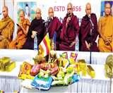 बोधि सोसाइटी में धूमधाम से मना कठिन चीवर दान उत्सव Jamshedpur News