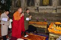 भूटान के विदेश मंत्री ने बोधिवृक्ष को किया नमन