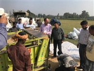 जम्मू जिले में सरकारी कांटे पर 22 हजार क्विंटल धान खरीद