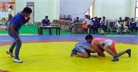 कुश्ती में हरियाणा के संदीप ने महाराष्ट्र के शिवाजी को हराया