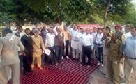 जेएनयू के छात्रों व होंडा कर्मचारियों के समर्थन में किया प्रदर्शन