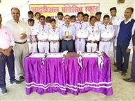 भारत स्काउट एंड गाइड के छात्रों को किया गया पुरस्कृत