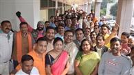 भाजपा के जिलाध्यक्ष पदों पर दावेदारों की लंबी फेहरिश्त