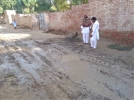 गांव लोहगढ़ की मुख्य फिरनी खस्ताहाल, लोग परेशान