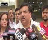 Delhi Assembly Election: AAP सांसद राज्यसभा में उठाएंगे दिल्ली में कानून व्यवस्ता का मुद्दा