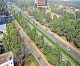 इस सड़क से 472 पेड़ कटने के बाद नहीं दिखेगी हरियाली, फ्लाईओवर का काम शुरू Chandigarh News