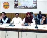 राजनीतिक पारी की पहली बैठक में खेलमंत्री संदीप सिंह का आक्रामक रुख, दो अधिकारी सस्पेंड Panipat News