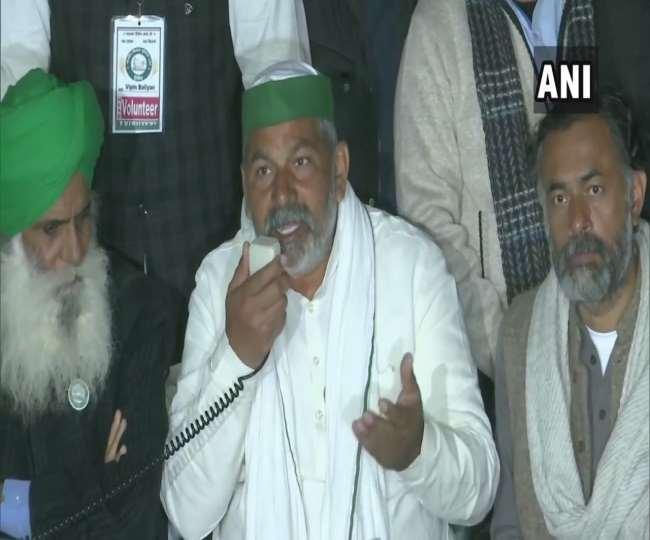किसान यूनियन के नेता राकेश टिकैत ने कहा कि किसान 23 दिसंबर को भोजन छोड़कर विरोध करेंगे।