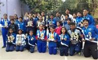 टेनिस प्रतियोगिता में खिलाड़ियों को मिले 34 पदक