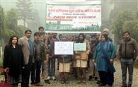 गंगा की स्वच्छता को निकाली जागरुकता रैली