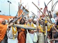 रामनगरिया में हर तरफ गूंजा हर-हर गंगे