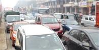दिल्ली-मेरठ हाईवे पर फिर लगा जाम