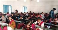 नवमीं की परीक्षा में 6592 परीक्षार्थी हुए शामिल