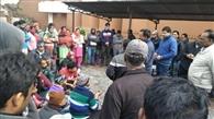 पंत विवि के मेस कर्मी धरने पर