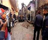 ऋषिकेश में अतिक्रमण पर गरजी जेसीबी, काटे गए चालान Dehradun News