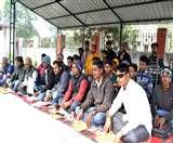 विश्वविद्यालय अध्यक्ष छात्र कल्याण का घेराव, विधि-व्यवस्था को लेकर दिया धरना Muzaffarpur News