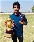 इंटर यूनिवर्सिटी किक बाक्सिग में आकाश ने जीता स्वर्ण