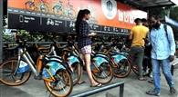एक महीने में 8491 किलोमीटर घूमा पब्लिक साइकिल का पहिया