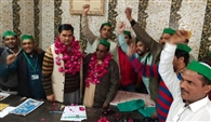 भारतीय किसान यूनियन लोकशक्ति के संजोर अली बने जिलाध्यक्ष