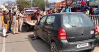 गलत पार्किंग में खड़े सात वाहन रिकवरी वैन से उठाकर पहुंचाए चौकी