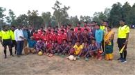 गौड़माल फुटबॉल प्रतियोगिता पर गर्राखाई का कब्जा