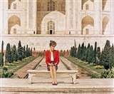 TrumpVisitIndia: ताज जितना खूबसूरत, उतनी ही मशहूर डायना बेंच भी Agra News