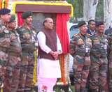 रक्षा मंत्री राजनाथ सिंह ने किया नए थल सेना भवन का शिलान्यास, बिल्डिंग में होंगे 6014 ऑफिस