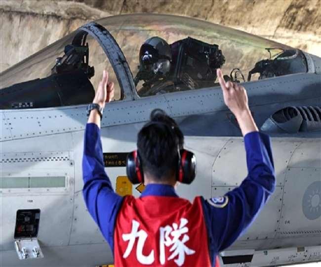 ताइवान की सीमा में घुसे चीनी विमान खदेड़े गए। (फोटो- रायटर)