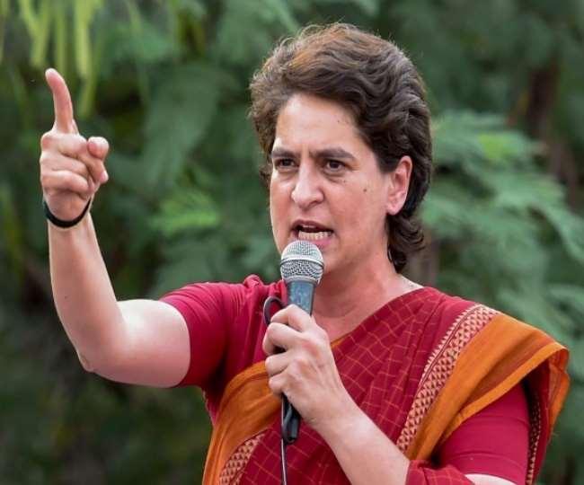 कांग्रेस की महासचिव प्रियंका गांधी वाड्रा।(फोटो: दैनिक जागरण/फाइल)