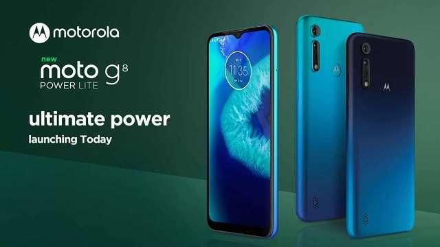 Motorola G8 Power Lite आज भारत में होगा लॉन्च, जानें संभावित कीमत और फीचर्स