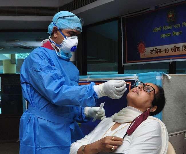 दिल्ली में सक्रिय मरीजों की संख्या 566 है।