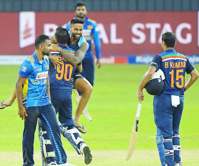 India ने Sri lanka को वनडे सीरीज में हरा दिया (फोटो BCCI Twitter)