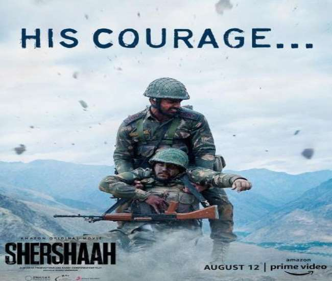 Sidharth Malhotra shared new poster of 'Sher Shah', fans gave such a reaction after seeing actor Sher Shah look.